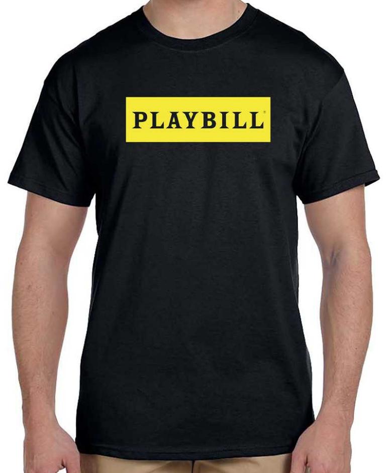 390c34cf Black Playbill Logo T-Shirt - Playbill Merchandise & Souvenirs |  PlaybillStore.com