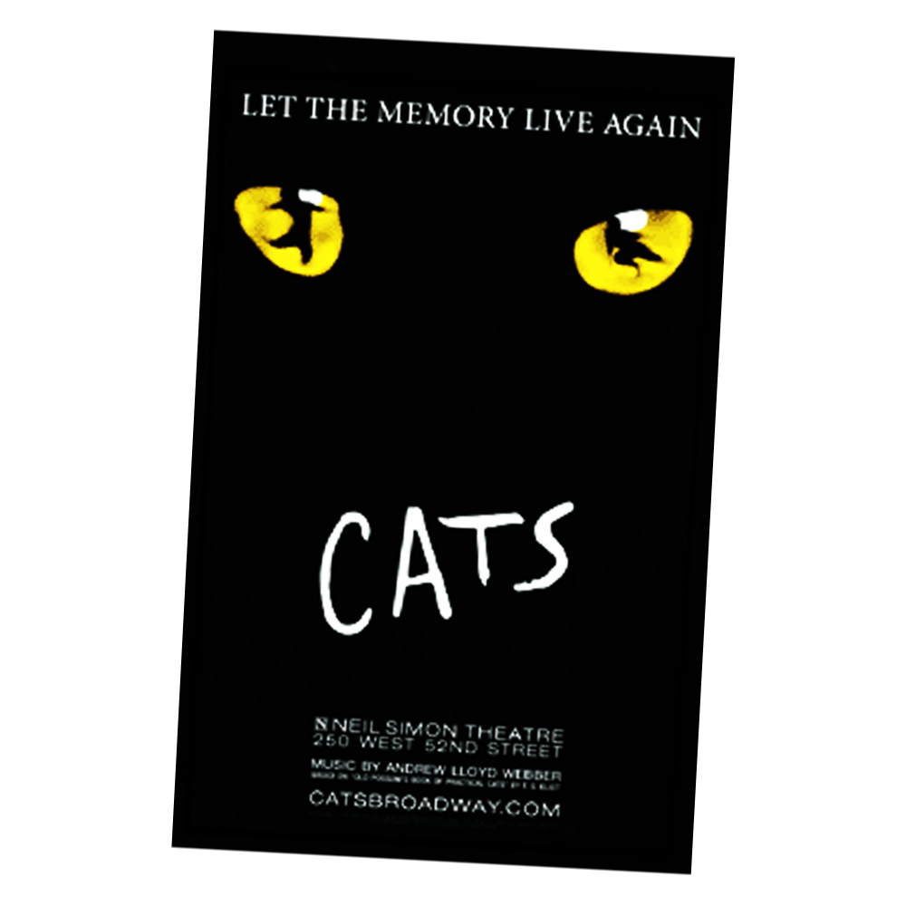 Cats The Musical 2016 Poster