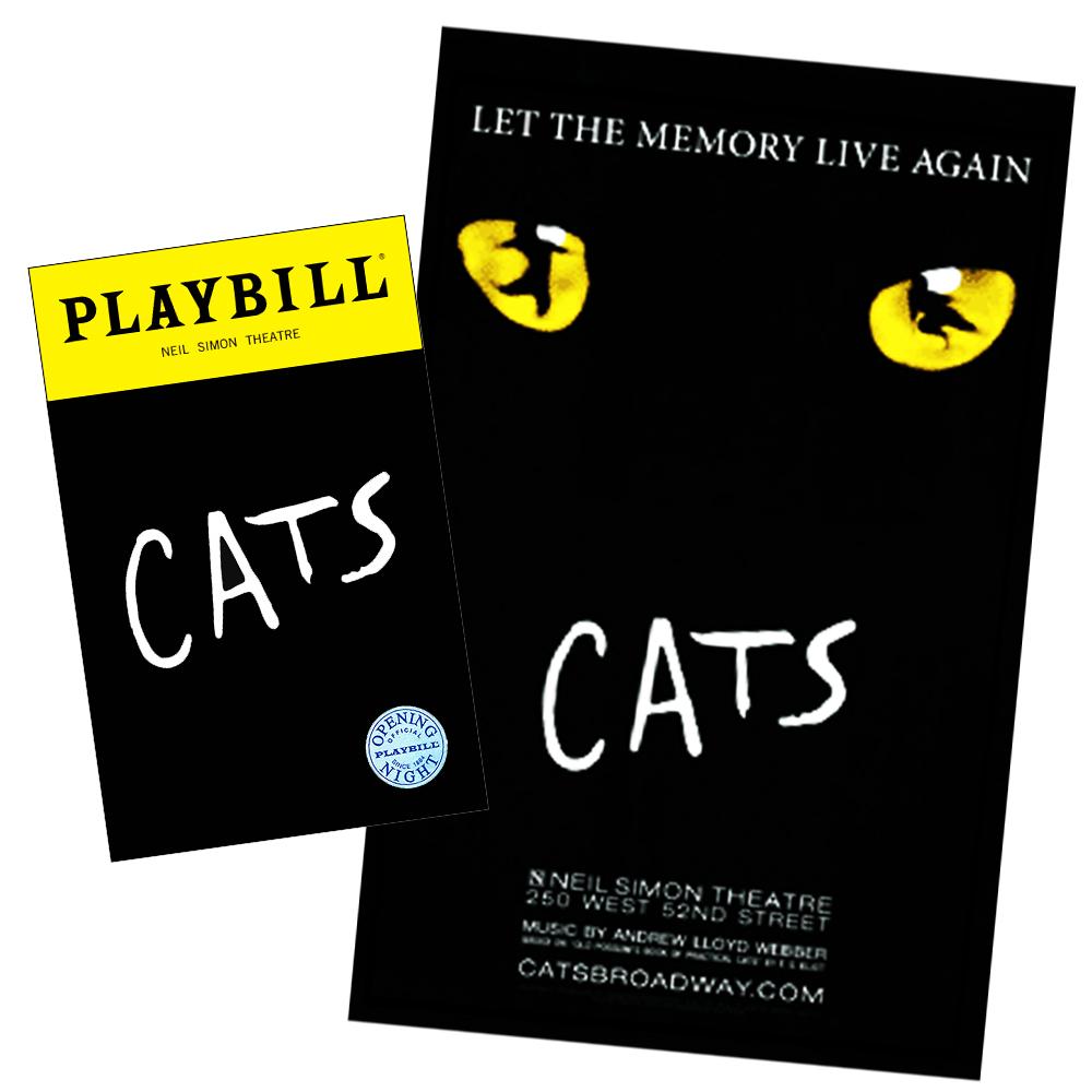 Cats On Broadway Combo Cats Playbillstore Com