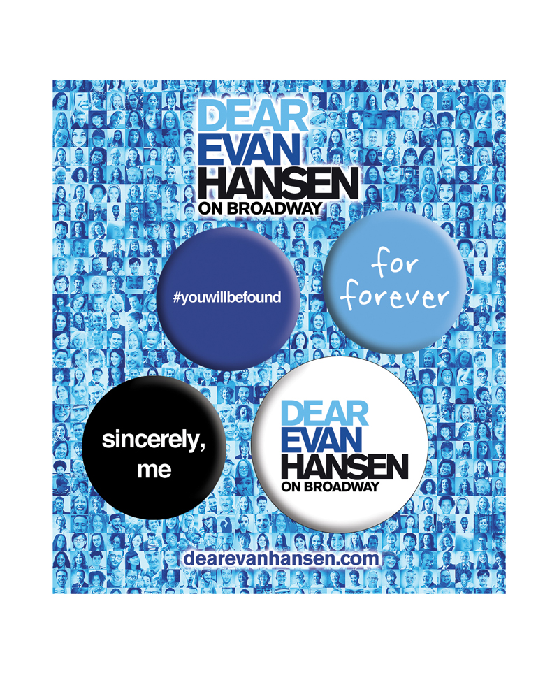 Dear Evan Hansen Pin Set Dear Evan Hansen