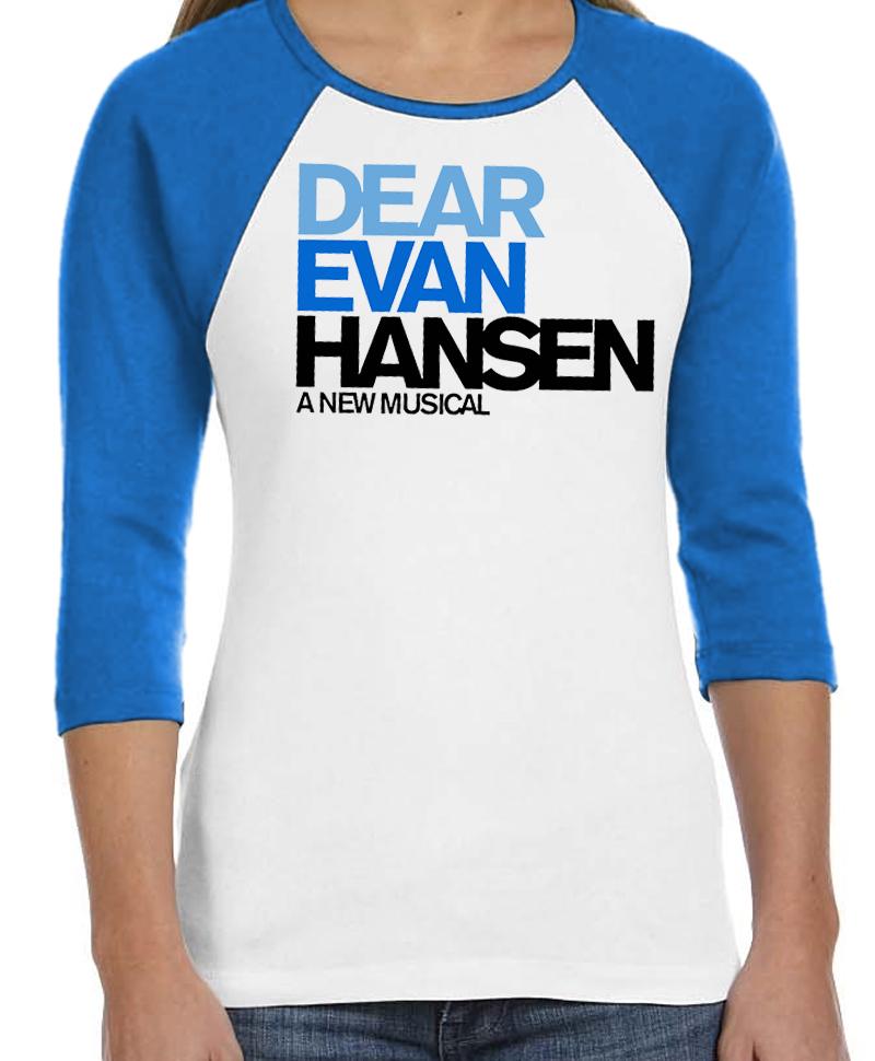 Dear Evan Hansen Raglan Baseball T Shirt Dear Evan