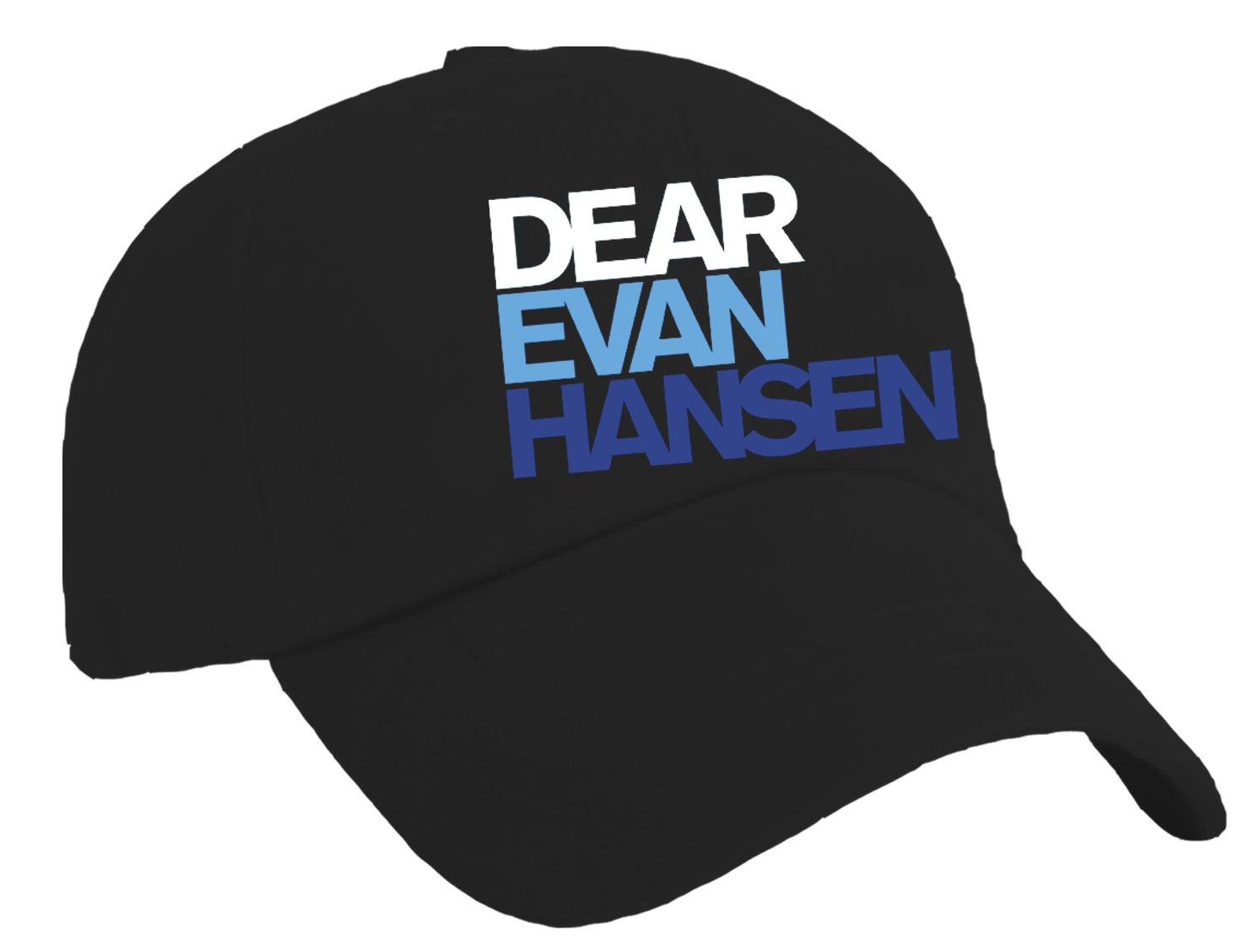 Dear Evan Hansen the Musical - Logo Baseball Hat - Headwear ... 300b2eb7cb5