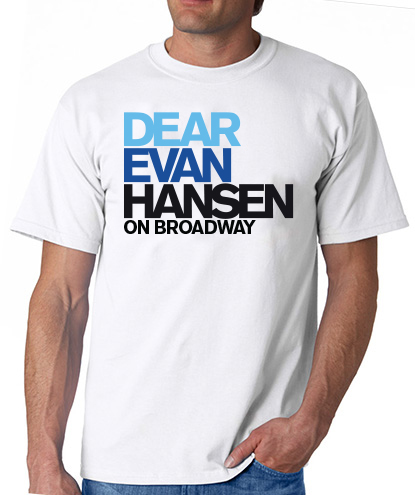 Dear Evan Hansen The Musical Logo T Shirt Dear Evan