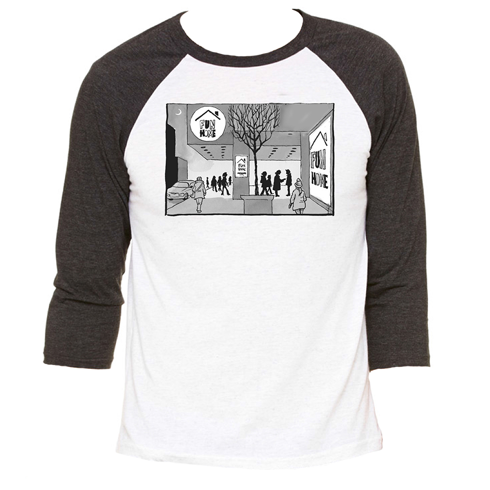 Fun Home Raglan T Shirt Fun Home Playbillstore Com