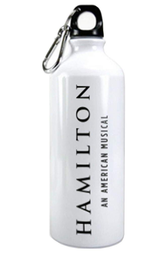 Hamilton The Broadway Musical Water Bottle Hamilton