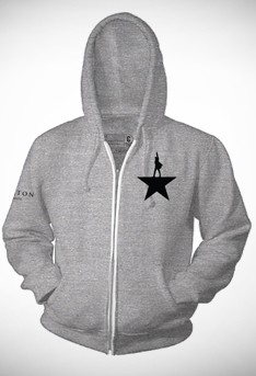 Hamilton Zip Hoodie Hamilton The Musical Playbillstore Com