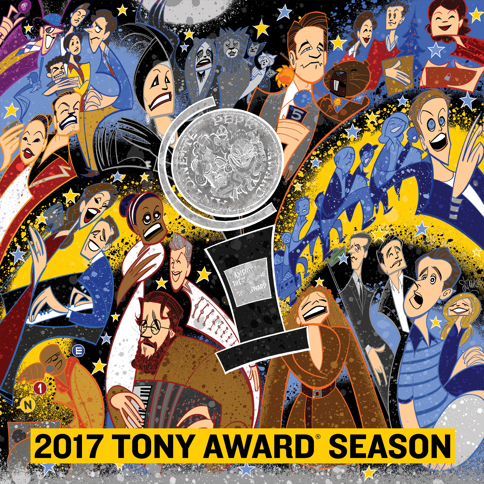 The 2017 Tony Award Season Album Broadway Cds Dvds