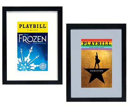 The Deluxe Playbill Display Frame Playbill Frames