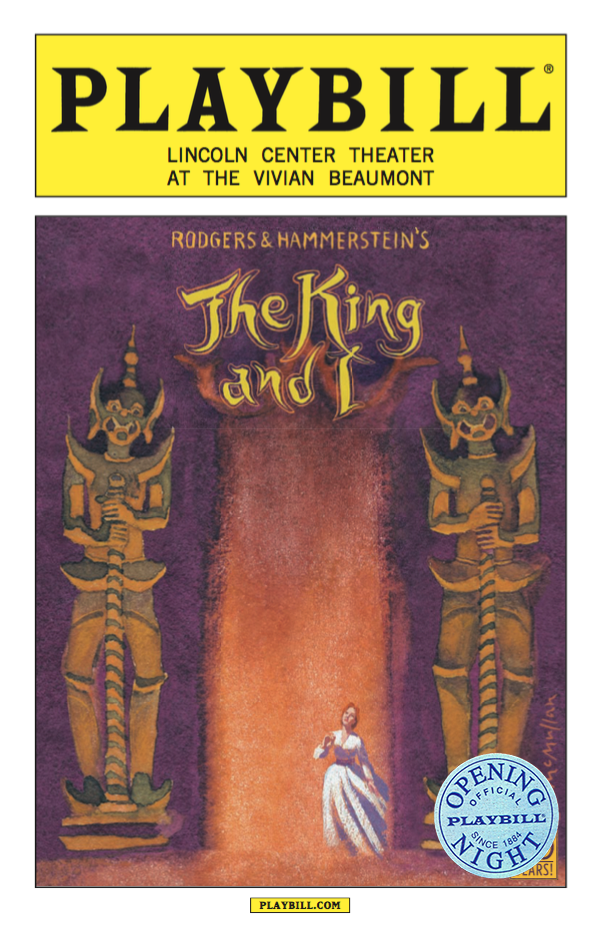 The King And I Limited Edition Official Opening Night