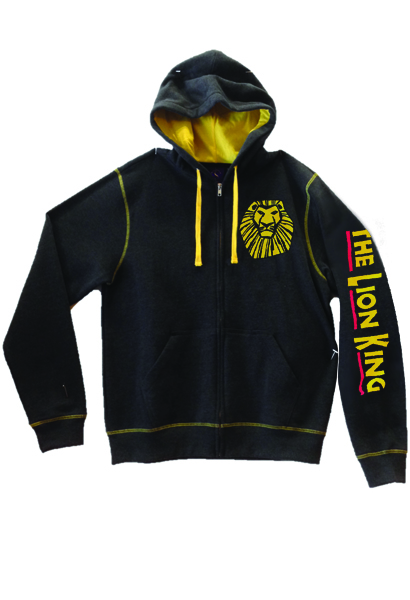 f626833f The Lion King the Broadway Musical Heather Zip Hoodie - The Lion ...