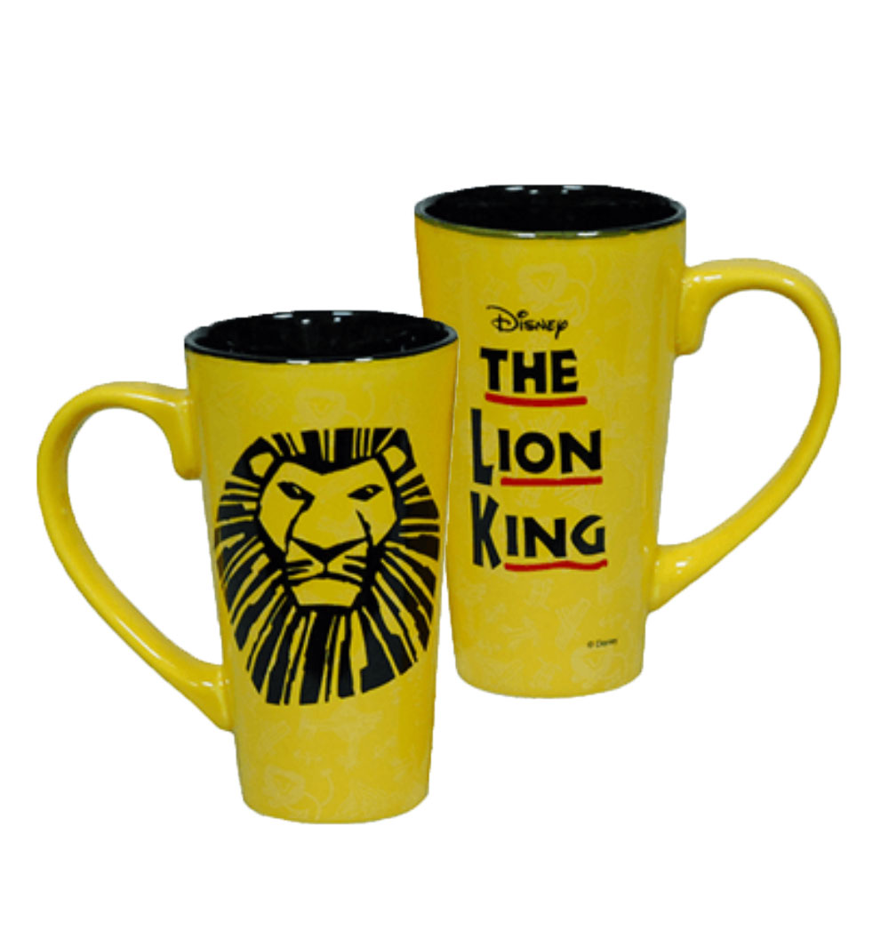 The Lion King The Broadway Musical Tall Latte Mug The