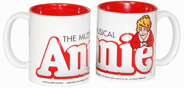 Annie The Musical Logo Coffee Mug Annie The Musical