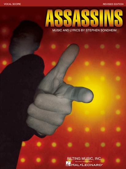 Assassins Vocal Score Broadway Books Piano Vocal Sheet