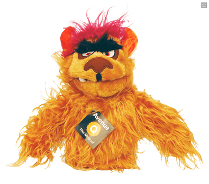 Avenue Q The Musical Trekkie Monster Hand Puppet