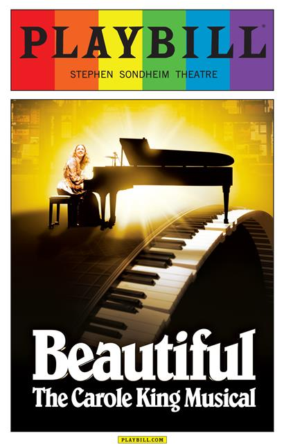 Beautiful The Carole King Musical June 2015 Playbill
