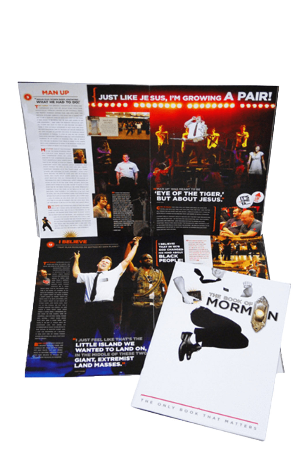 The Book Of Mormon The Broadway Musical Souvenir Program