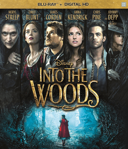 Disney's Into the Woods the Movie Musical Blu-Ray