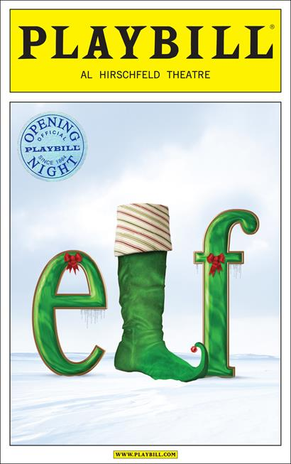 Elf The Broadway Musical Limited Edition Official Opening