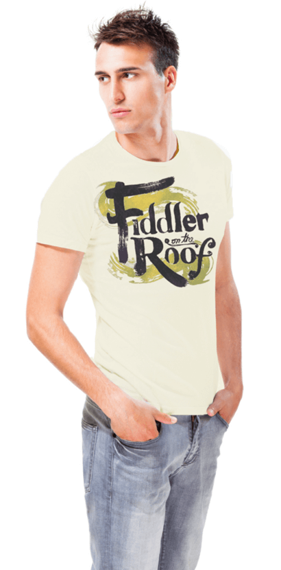 Fiddler On The Roof The Broadway Musical Logo T Shirt