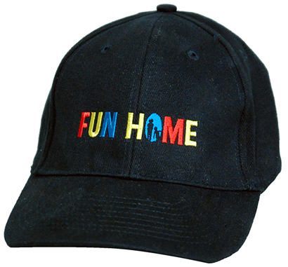 c907da04c73fa Fun Home the Broadway Musical - Logo Baseball Cap - Fun Home ...