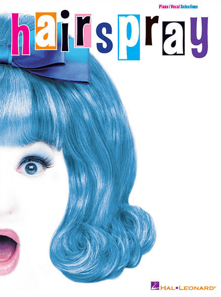 Hairspray Piano Vocal Selections Souvenir Edition Songbook Broadway Books Piano Vocal Sheet
