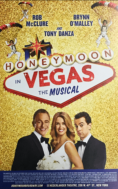 Honeymoon In Vegas Broadway Poster
