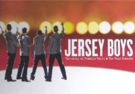 Jersey Boys The Broadway Musical Logo Magnet Jersey