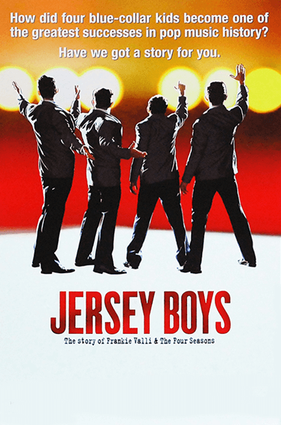 Jersey Boys The Musical Broadway Poster Jersey Boys