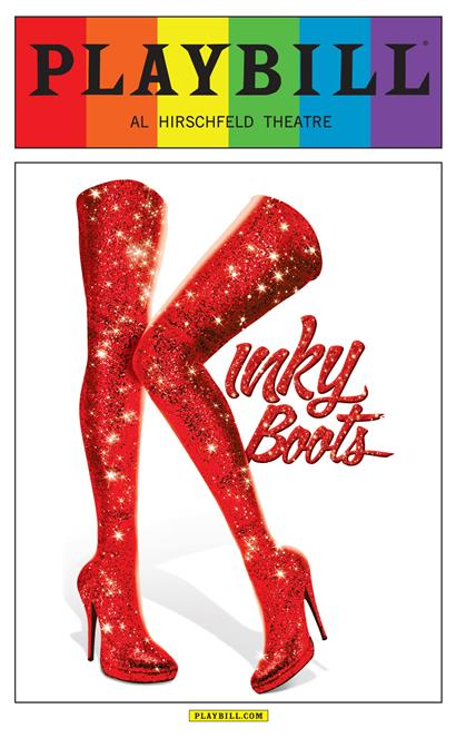 Kinky Boots The Musical June 2015 Playbill With Rainbow