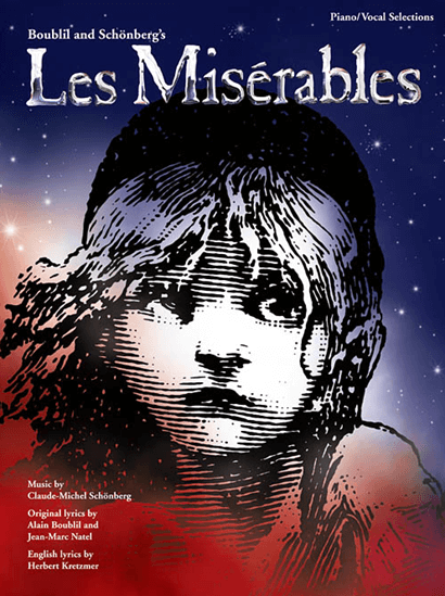 Les Miserables Updated Version Piano Vocal Selections
