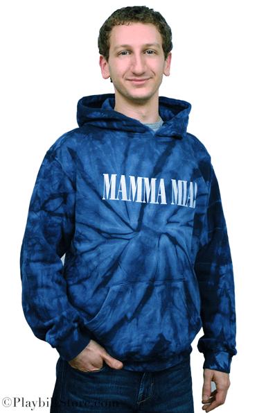 Mamma Mia The Broadway Musical Tie Dye Pullover Logo