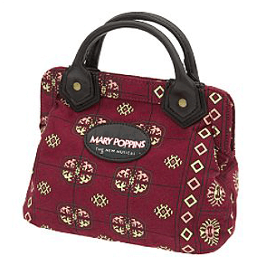 Mary Poppins The Broadway Musical Carpetbag Mini Purse