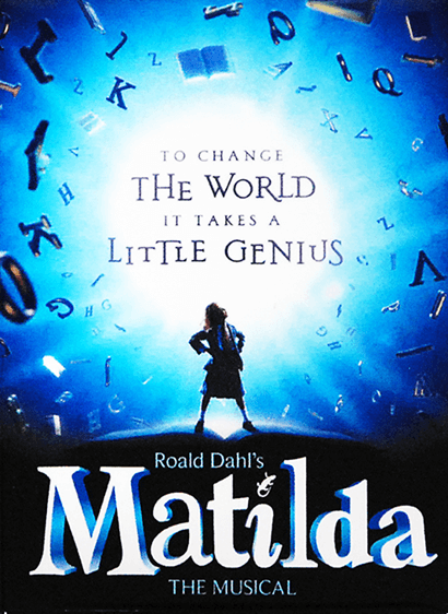 Matilda The Broadway Musical Logo Magnet Matilda The