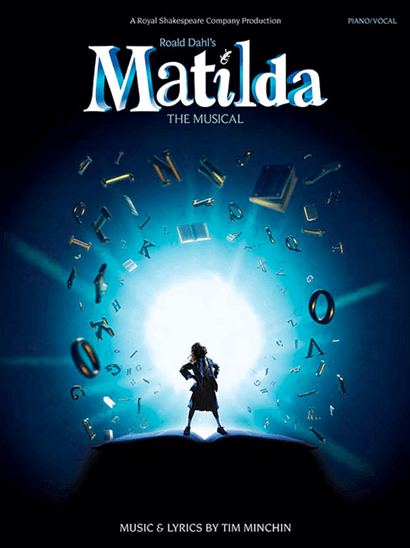 Matilda the Musical Piano/Vocal Selections Songbook