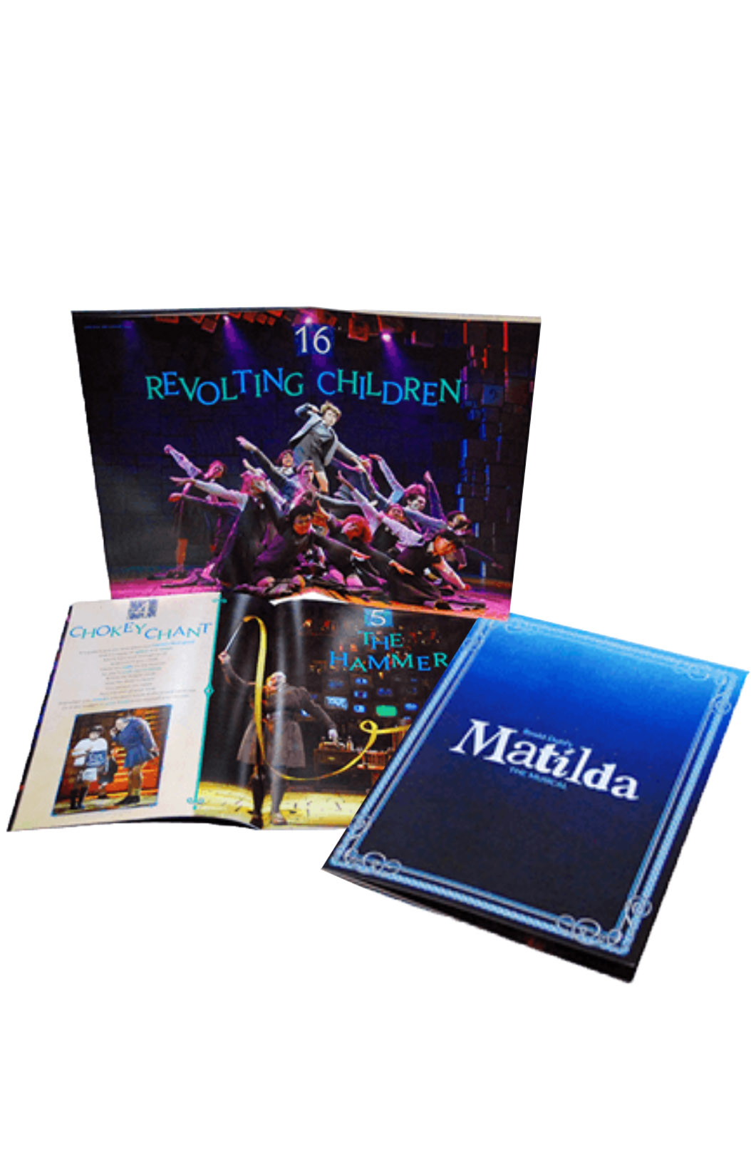 Matilda The Broadway Musical Souvenir Program Matilda
