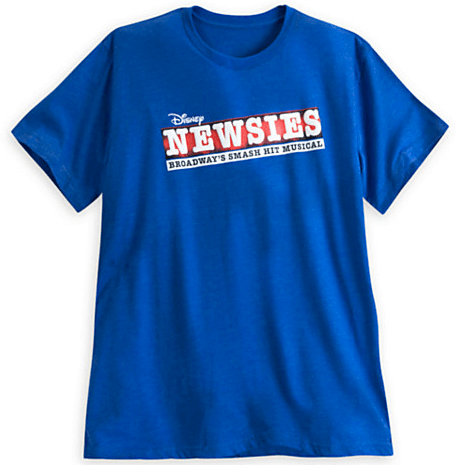 Newsies The Musical Adult Logo T Shirt Newsies