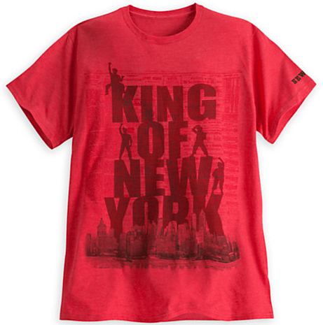 Newsies The Musical King Of New York Red T Shirt
