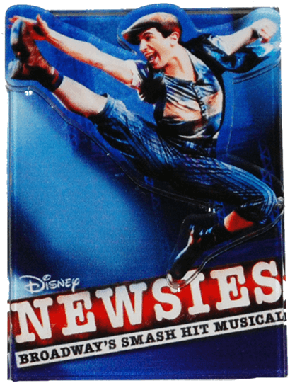 Newsies The Musical Logo Magnet Newsies
