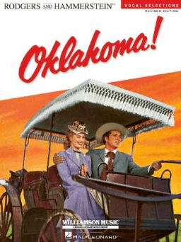 oklahoma revised piano vocal selections songbook broadway books piano vocal sheet music. Black Bedroom Furniture Sets. Home Design Ideas