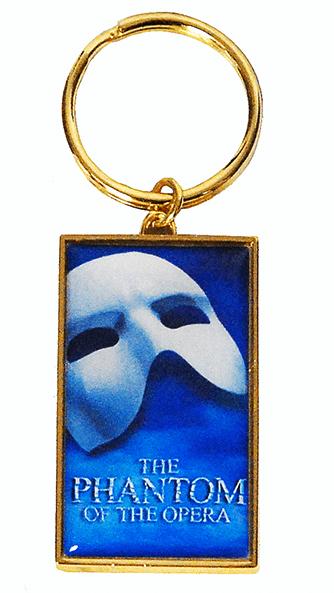 Phantom Of The Opera The Broadway Musical Logo Keychain