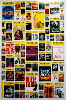 Playbill 2008 2009 Broadway Season Poster 3rd Annual