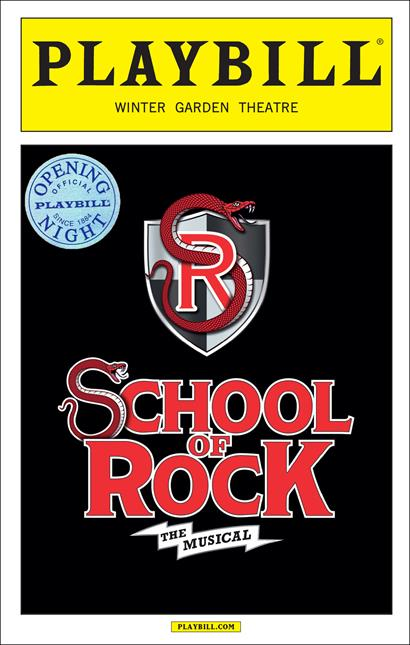 School Of Rock The Musical Limited Edition Official