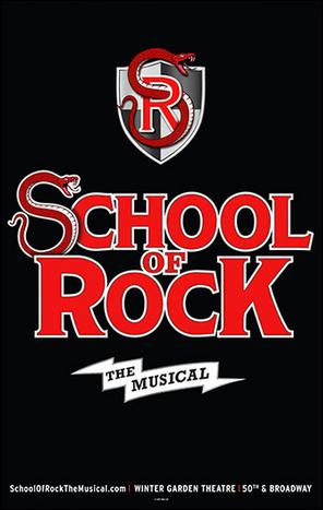 School Of Rock The Official Broadway Poster School Of