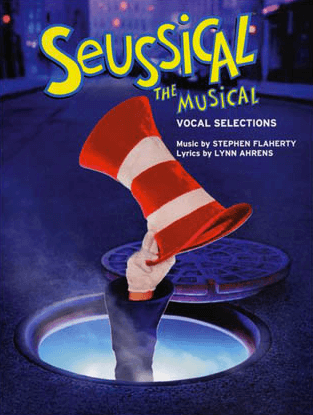 Seussical The Musical Piano Vocal Selections Songbook