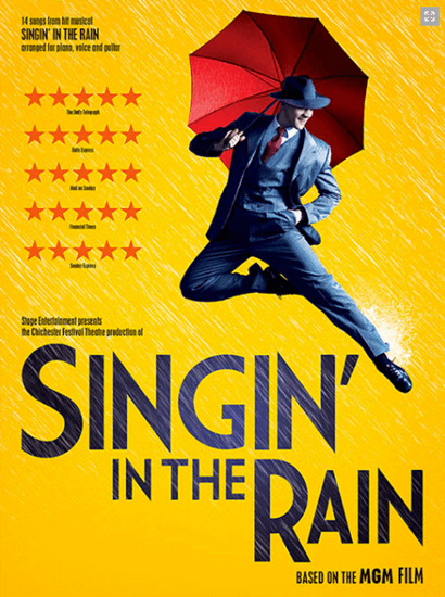 Singin In The Rain The Broadway Musical Piano Vocal