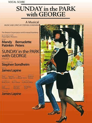 Sunday In The Park With George Vocal Score Broadway