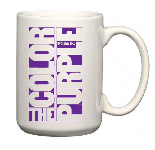 the color purple the broadway musical logo coffee mug the color