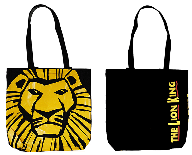 The Lion King Broadway Musical Canvas Tote Bag