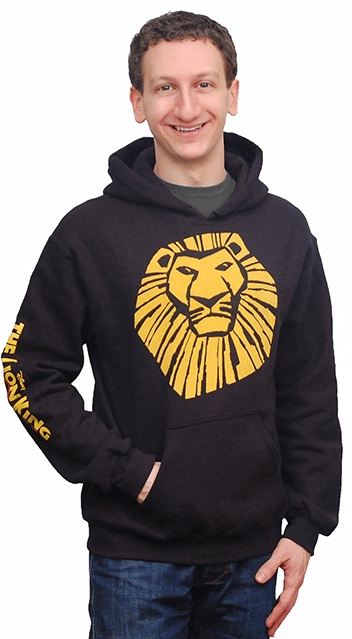 The Lion King The Broadway Musical Logo Pullover Fleece Hoodie The Lion King Playbillstore Com