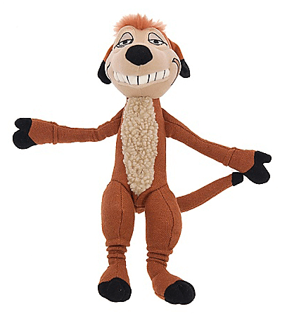 The Lion King The Broadway Musical Timon Beanbag Doll